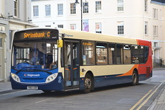 Stagecoach West 28682 YN64AOM (Will Swain) Tags: uk travel england west bus buses town britain transport gloucestershire september seen spa cheltenham stagecoach 17th 2015 28682 yn64aom