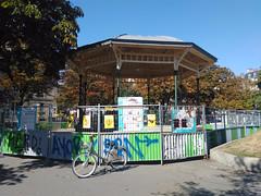 Paris le - 2015-09-10-12h33 (desparlsp) Tags: france nation kiosque musique parsi placedelanation kiosquemusique