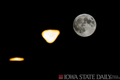 Blood Moon Eclipse 2015 (Max Goldberg) Tags: red moon eclipse blood iowa campanile lunar moonshot bloodmoon iowastateuniversity 2015