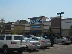 Five Below doesn't open until early October 2015 (l_dawg2000) Tags: new usa retail mississippi store fishing hobbylobby unitedstates crafts hunting arts hobby ms 2015 sportinggoods olivebranch fivebelow academysports olivebranchcrossing