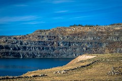 South Pass open pit iron mine.
