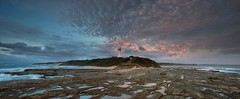 Norah Head Panorama - Explored 22nd October 2015 (archie0) Tags: lighthouse sunrise australia panoramic norahhead explored