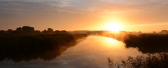Not a bad start to the day (nick edge) Tags: light nature sunrise reeds landscape nikon scenery glastonbury wideangle somerset wetlands glastonburytor reedbeds somersetlevels isleofavalon hamwall tokina1116mm avalonmarshes rspbhamwall nikond7100