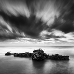 The Wall (DavidFrutos) Tags: longexposure sea costa naturaleza seascape muro beach nature water rock wall clouds sunrise landscape coast mar agua rocks waves fineart wave playa paisaje romano alicante amanecer filter le lee nubes nd canondslr olas roca rocas ola 1x1 waterscape filtro largaexposicin filtros gnd neutraldensity canon1740mm graduatedneutraldensity densidadneutra davidfrutos 5dmarkii niksilverefexpro2 hitechreversegnd06 hitechnd64