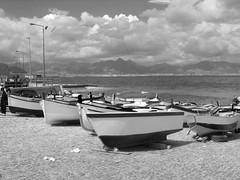 Porticciolo lungomare (Fra.Pal86) Tags: sea mare barche palermo sicilia aspra