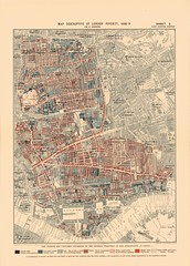 Printed Map Descriptive of London Poverty 1898-1899. Sheet 5. East Central District (LSE Library) Tags: poverty green london booth map victorian charles cartography shoreditch bethnal whitechapel wapping stepney shadwell haggerston charlesbooth ratcliff spitalifields lselibrary