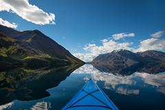 Kathleen Lake and Kayak (kdee64) Tags: kathleenlake kayak autumn september calmlake reflections kluanenationalpark kingsthrone mountworthington steliasmountains yukon northerncanada