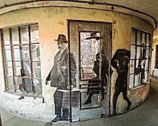 Ellis Island Hospital JR life size wall art 3 - explored