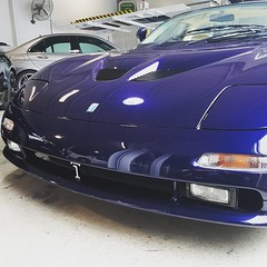 """The Fabcar Unicorn #detomaso #guara #v8 #italy #1of3 #rare #collectors #rhd #custom #supercar #blue #investment #perth #forsale #carsforsalwle #carsofinstagram #fabcar #drivesomethingdifferent #merchantsofhighoctane • <a style=""""font-size:0.8em;"""" href=""""http://www.flickr.com/photos/42053293@N04/22839368258/"""" target=""""_blank"""">View on Flickr</a>"""