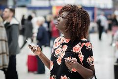 Waterloo (jonron239) Tags: summer london girl curls waterloo glance