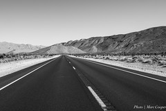 The Long Road (MarcCooper_1950) Tags: las vegas bw nikon highway desert group openroad 100 fullframe fx comment 5000views 100faves 150faves 100comments d810 100commentgroup raodtovegas mountcharlestonroad