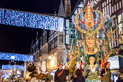 Chester Winter Watch Parade (Mark Carline) Tags: christmas winter cold lights cheshire watch culture parade chester 2015 christmasinchester chesterwinterwatchparade chesterculture