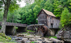 Glade Creek Grist Mill @ Babcock State Park - Clifftop, WV (Paul Diming) Tags: statepark park summer mill landscape parks westvirginia dailyphoto gristmill clifftop stateparks newrivergorge fayettecounty gladecreek babcockstatepark gladecreekgristmill westvirginiastateparks coopersmill fayettecountywestvirginia d7000 pauldiming clifftopwestvirginia edwardvbabcock recreatedmill