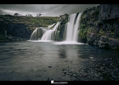 Kirkjufellsfoss (Yiannis Chatzitheodorou) Tags: kirkjufellsfoss iceland ισλανδία europe waterfall water snaefellsness καταρράκτησ