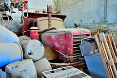 FWD 6x6 (riccardo nassisi) Tags: auto camion truck abbandonata abandoned abbandonato rust rusty relitto rottame ruggine ruins scrap scrapyard epave urbex decay piacenza cava san nicol