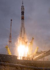 Expedition 49 Launch (NHQ201610190025) (NASA HQ PHOTO) Tags: kazakhstan baikonur baikonurcosmodrome roscosmos expedition49launch kaz expedition49 nasa joelkowsky soyuzms02