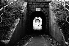 Entrance to Northe Fort. (JamieHaugh) Tags: weymouth dorset blackandwhite blackwhite arch monochrome architecture outdoor outdoors tunnel bridge