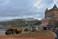 Big boys' toys on the beach at Scarborough (Majorshots) Tags: scarborough northyorkshire yorkshire southbay grandhotel