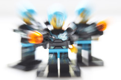 Week 42 Zoom Effect - The attack was a blur (Damien Walmsley) Tags: soldiers lego miniseries cyborg zoom