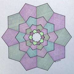 20160817 (regolo54) Tags: fractal geometry symmetry tessellation wallpaper escher pentagon fibonacci mathart regolo54