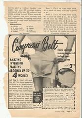 The Compresso Belt (912greens) Tags: ads advertisements compressobelts girdles lingerie magazines