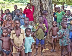 Children of Ashaimbre (Pejasar) Tags: ashaimbre ghana westafrica africa children school kids group students