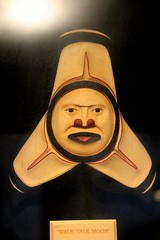Wale Tale Moon (demeeschter) Tags: canada yukon territory teslin lake town heritage center native american tlingit historical museum art attraction