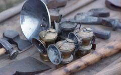 Carbide lamps (rentavet) Tags: pioneersteamgasenginesocietynwpa saegertownpa nikkormatel kodakhawkeyesurveillancefilm analog