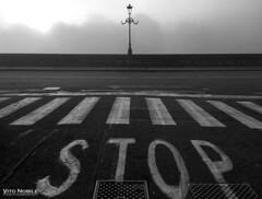 stop (vito.nobile) Tags: nebbia fog torino italia turin italy ponte bridge
