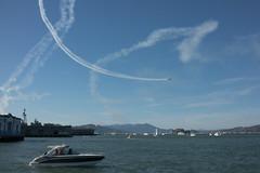 Blue Angels - San Francisco Fleet Week (vhines200) Tags: blueangels sanfrancisco fleetweek 2016 airshow sky clouds