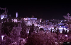 Jerusalem in Infrared (dgoldenberg52) Tags: israel jerusalem infrared old city night capital urban