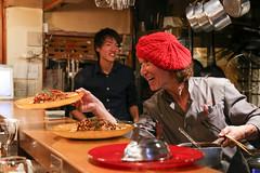 IMG_1028 (Jeff Amador) Tags: kyoto japan pontocho kichikichi kichi omurice omelette food