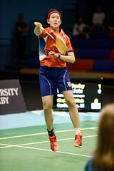 NBLmatch-5100-0557 (University of Derby) Tags: 5100 badminton nbl sportscentre universityofderby match