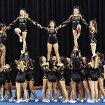 BHS Cheer 5A State 11/19/16 (KM)