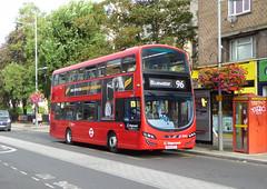 SLN 13003 - BU14EFY - BEXLEYHEATH SHOPPING CENTRE - FRI 9TH SEPT 2016 (Bexleybus) Tags: bexleyheath shopping centre kent stagecoach london wrightbus gemini volvo hybrid tfl route 96 13003 bu14efy