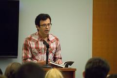 Daniel Borzutzky (saintvincentcollege) Tags: cristymarsh benedictineeducation liberalarts liberalartscollege writing visiting writer series bearcats