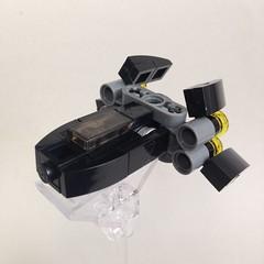 Preadator Gunship (TenorPenny) Tags: lego microscale microspace gunship spaceship starship