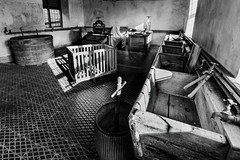 Chirk Castle (Indie Images) Tags: chirkcastle nationaltrust blackandwhite monochrome historic history naturallight