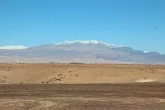 Atlas Mountains from the desert (John Englart (Takver)) Tags: morocco atlasmountains mountains snow desert