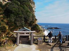 都井岬の御崎神社 (wing of kaz) Tags: olympus ep5 japan kagoshima