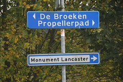 Lancaster monument in Assen (willemsknol) Tags: tweedewereldoorlog woii lancastermonument assen willemsknol