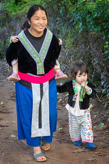 Hmong mother (maryannenelson) Tags: thailand hmong women tradition people culture
