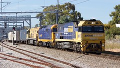 6MP5 Adelaide Showgrounds 03/12/2016 (Dom Quartuccio) Tags: pacific national nr113 8114 nr18 6mp5 adelaide south australia artc sa railways railway railroad railpage locomotive pn pacnat showgrounds