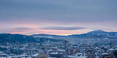 Blagoevgrad, Bulgaria (Boris Genov) Tags: blagoevgrad bulgaria sunrise winter snow city town
