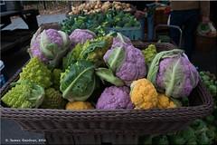 Colorful Cauliflower (James0806) Tags: dc cauliflower purple orange green dupontcirclefarmersmarket washingtondc