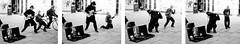 Daniel Gerrard busking in Bath - with a helper (Peach of a Shot) Tags: bath danielgerrard olympusem5 busker guitar guitarist