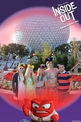 Epcot (Elysia in Wonderland) Tags: elysia florida orlando disney world 2016 holiday epcot becca clinton lucy pete spaceship earth inside out anger