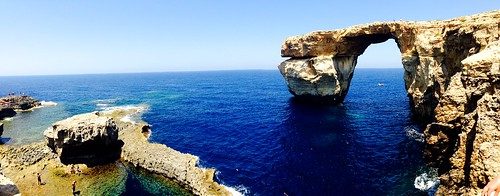 Azure window panorama.
