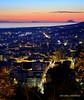 Lamezia Terme (Arcieri Saverio) Tags: lamezia lameziaterme nicastro sky sunset tramonto rosso eolie isole rouge paesaggio nikon vulcano landscapes 55300 d5100 italia cz italy calabria blue orablu mer mare