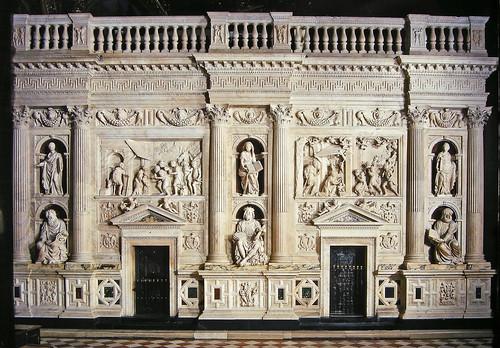Rivestimento Marmoreo della Santa Casa di Loreto (1509-1578). Parete sud